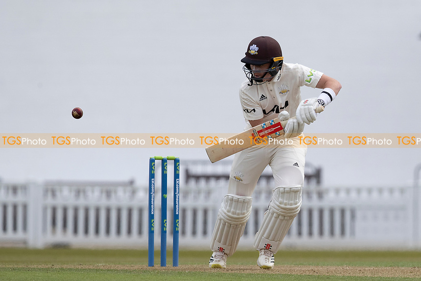 Ollie Pope of Surrey pushes into the offside for a quick single during Surrey CCC vs Hampshire CCC, LV Insurance County Championship Group 2 Cricket at the Kia Oval on 30th April 2021
