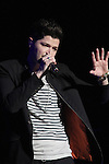 Danny O'Donoghue from the Script play the O2...(Photo credit should read Jenny Matthews/www.newsfile.ie)....This Picture has been sent you under the conditions enclosed by:.Newsfile Ltd..The Studio,.Millmount Abbey,.Drogheda,.Co Meath..Ireland..Tel: +353(0)41-9871240.Fax: +353(0)41-9871260.GSM: +353(0)86-2500958.email: pictures@newsfile.ie.www.newsfile.ie.