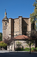 Europe/Espagne/Pays Basque/Guipuscoa/Goierri/Lazkao: Eglise paroissiale San-Miguel