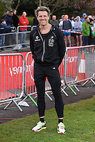 James Cracknell<br /> at the start of the 2016 London Marathon, Blackheath, Greenwich London<br /> <br /> <br /> ©Ash Knotek  D3108 24/04/2016