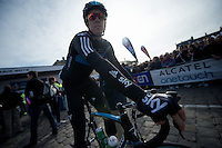 Paris-Roubaix 2012 ..Mathew Hayman at the start