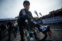 Paris-Roubaix 2012 ..Mathew Hayman at the start