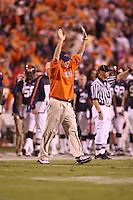 Virginia head coach Al Groh.