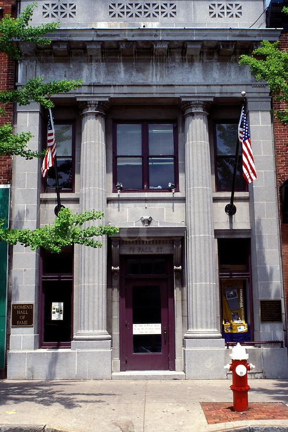hall of fame, Seneca Falls, NY, New York, Finger Lakes, Women's Hall of Fame.