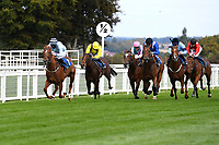 Winner of The Draintech Tankers Nursery Stakes Bella Notte ridden by Mark Crehan and trained by Mick Channon   during Horse Racing at Salisbury Racecourse on 11th September 2020
