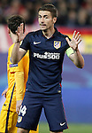 Atletico de Madrid's Gabi Fernandez during Champions League 2015/2016 Quarter-Finals 2nd leg match. April 13,2016. (ALTERPHOTOS/Acero)