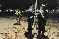 - Milano, novembre 2016, pattugliamento misto delle Forze dell'Ordine insieme all'Esercito per il controllo della criminalità nelle zone a rischio della città<br /> <br /> - Milan, November 2016, mixed patrols of the police along with the Army for control of crime in risk areas of the city