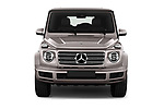 Car photography straight front view of a 2019 Mercedes Benz G-Class Base 5 Door SUV Front View