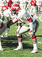 James Sykes Calgary Stampeders 1983. Copyright photograph Scott Grant