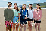 Enjoying the afternoon on Inch Beach on Saturday, l to r: Alex Griffin, Rachel Turrell, Shannon Breen, Alison Ryan and Leah Shine.