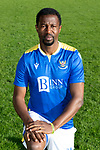 St Johnstone FC 2021-22<br />Efe Ambrose<br />Picture by Graeme Hart.<br />Copyright Perthshire Picture Agency<br />Tel: 01738 623350  Mobile: 07990 594431