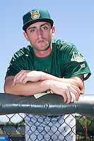 Lynchburg Hillcats pitcher Rob Kaminsky (24) poses for a photo prior to the game against the Winston-Salem Dash at BB&T Ballpark on August 2, 2015 in Winston-Salem, North Carolina.  (Brian Westerholt/Four Seam Images)