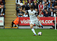 Saturday 28 September 2013<br /> Pictured: Ben Davies of Swansea<br /> Re: Barclay's Premier League, Swansea City FC v Arsenal at the Liberty Stadium, south Wales.