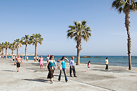 Zypern (Süd), Ufer-Promenade in Kato Pafos