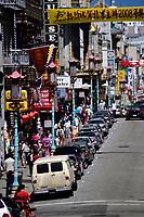 San Francisco, California.  Grant Street, Chinatown.