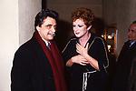 ACHILLE OCCHETTO  CON CARLA GRAVINA TEATRO QUIRINO  ROMA 1988