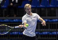 Rotterdam, Netherlands, December 13, 2016, Topsportcentrum, Lotto NK Tennis,  Botic van de Zandschulp (NED) <br /> Photo: Tennisimages/Henk Koster