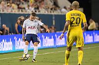 Orlando, FL - Saturday July 22, 2017: Kieran Trippier during the International Champions Cup (ICC) match between the Tottenham Hotspurs and Paris Saint-Germain F.C. (PSG) at Camping World Stadium.