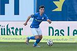 20.02.2021, xtgx, Fussball 3. Liga, FC Hansa Rostock - SV Waldhof Mannheim, v.l. Lukas Scherff (Rostock) Freisteller, Einzelbild, Ganzkoerper, single frame <br /> <br /> (DFL/DFB REGULATIONS PROHIBIT ANY USE OF PHOTOGRAPHS as IMAGE SEQUENCES and/or QUASI-VIDEO)<br /> <br /> Foto © PIX-Sportfotos *** Foto ist honorarpflichtig! *** Auf Anfrage in hoeherer Qualitaet/Aufloesung. Belegexemplar erbeten. Veroeffentlichung ausschliesslich fuer journalistisch-publizistische Zwecke. For editorial use only.