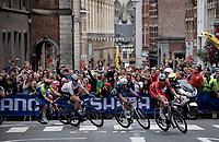 Kasper Asgreen (DEN/Deceuninck - Quick Step) in Leuven<br /> <br /> Elite Men World Championships - Road Race<br /> from Antwerp to Leuven (268.3km)<br /> <br /> UCI Road World Championships - Flanders Belgium 2021<br /> <br /> ©kramon