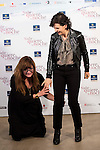 "Spanish director Isabel Coixet (L) and french actress Juliette Binoche during the presentation of the film ""Nadie quiere la noche"" in Madrid, November 02, 2015. <br /> (ALTERPHOTOS/BorjaB.Hojas)"