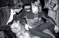 1978 FILE PHOTO<br /> New York City<br /> Steve Rubell Andy Gibb at Studio 54<br /> Photo by Adam Scull-PHOTOlink.net