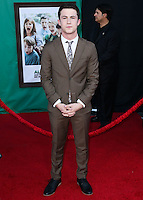 HOLLYWOOD, LOS ANGELES, CA, USA - OCTOBER 06: Dylan Minnette arrives at the World Premiere Of Disney's 'Alexander And The Terrible, Horrible, No Good, Very Bad Day' held at the El Capitan Theatre on October 6, 2014 in Hollywood, Los Angeles, California, United States. (Photo by Xavier Collin/Celebrity Monitor)