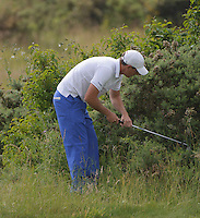 23.06.2014.  Ash, Kent, England. The Open Golf Regional Qualifier played on the International Course at The London Golf Course.  Group 30Russell Buxton [Hassocks], Jack Heasman (A) [Forest Hills], Ben Wheeler (A) [Purley Downs]