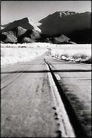 Road through desert<br />