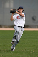 January 17, 2010:  Christian Laidley (Highland, MD) of the Baseball Factory Atlantic Team during the 2010 Under Armour Pre-Season All-America Tournament at Kino Sports Complex in Tucson, AZ.  Photo By Mike Janes/Four Seam Images