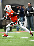 Miami Hurricanes running back Lamar Miller (6) in action during the 2010 Hyundai Sun Bowl football game between the Notre Dame Fighting Irish and the Miami Hurricanes at the Sun Bowl Stadium in El Paso, Tx. Notre Dame defeats Miami 33 to 17...