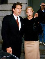 John Kennedy Jr & Carolyn Bessette (wife) 1996<br /> Photo By John Barrett-PHOTOlink.net
