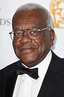 Sir Trevor MacDonald<br /> in the winners room at the 2016 BAFTA TV Awards, Royal Festival Hall, London<br /> <br /> <br /> ©Ash Knotek  D3115 8/05/2016