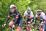 UAE Team Emirates with Tadej Pogacar (SLO) UAE Team Emirates on the front during La Fleche Wallonne 2020, running 202km from Herve to Mur de Huy, Belgium. 30th September 2020.<br /> Picture: ASO/Gautier Demouveaux | Cyclefile<br /> All photos usage must carry mandatory copyright credit (© Cyclefile | ASO/Gautier Demouveaux)