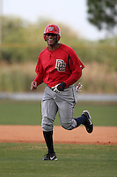 Washington Nationals minor leaguer Darnell McDonald during Spring Training at the Carl Barger Training Complex on March 19, 2007 in Melbourne, Florida.  (Mike Janes/Four Seam Images)