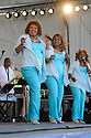 The Dixie Cups perform at the New Orleans Jazz and Heritage Festival, New Orleans, Sat., April 25, 2009.