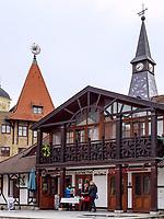 Europaplatz -Nadvorie Europy in Komarno, Nitriansky kraj, Slowakei, Europa<br /> Europe square Nadvorie Europy, Komarno, Nitriansky kraj, Slovakia, Europe