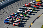 #20: Christopher Bell, Joe Gibbs Racing, Toyota Camry Rheem and #1: Elliott Sadler, JR Motorsports, Chevrolet Camaro Chevrolet OneMain Financial