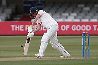 Dan Lawrence in batting action for Essex during Essex CCC vs Durham CCC, LV Insurance County Championship Group 1 Cricket at The Cloudfm County Ground on 15th April 2021