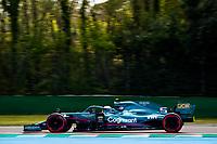 16th April 2021; Autodromo Enzo and Dino Ferrari, Imola, Italy; F1 Grand Prix of Emilia Romagna, Free Practise sessions;  05 VETTEL Sebastian (ger), Aston Martin F1 AMR21