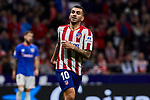 Angel Martin Correa of Atletico de Madrid during the La Liga match between Atletico de Madrid and Athletic Club de Bilbao at Wanda Metropolitano Stadium in Madrid, Spain. October 26, 2019. (ALTERPHOTOS/A. Perez Meca)