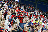 St. Paul, MN - Tuesday June 18, 2019: Fans during a 2019 CONCACAF Gold Cup group D match between the United States and Guyana on June 18, 2019 at Allianz Field in Saint Paul, Minnesota.