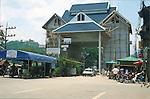 FRIENDSHIP BRIDGE BETWEEN THAILAND AND LAOS