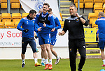 St Johnstone Training...21.05.21<br />Jamie McCart pictured during training at McDiarmid Park this morning ahead of tomorrow's Scottish Cup Final against Hibs.<br />Picture by Graeme Hart.<br />Copyright Perthshire Picture Agency<br />Tel: 01738 623350  Mobile: 07990 594431