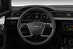 Car pictures of steering wheel view of a 2020 Audi e-tron-Sportback S-Line 5 Door SUV Steering Wheel