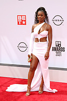 LOS ANGELES - JUN 27:  Ari Lennox at the BET Awards 2021 Arrivals at the Microsoft Theater on June 27, 2021 in Los Angeles, CA