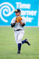 Staten Island Yankees Exicardo Cayones #50 during a game against the Batavia Muckdogs at Dwyer Stadium on July 29, 2012 in Batavia, New York.  Batavia defeated Staten Island 10-2.  (Mike Janes/Four Seam Images)