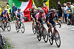 Jonathan Castroviejo Nicolas (ESP) Ineos Grenadiers leads team mate Maglia Rosa Egan Bernal (COL) and Simon Philip Yates (GBR) Team BikeExchange up the final climb of Stage 20 of the 2021 Giro d'Italia, running 164km from Verbania to Valle Spluga-Alpe Motta, Italy. 29th May 2021.  <br /> Picture: LaPresse/Fabio Ferrari   Cyclefile<br /> <br /> All photos usage must carry mandatory copyright credit (© Cyclefile   LaPresse/Fabio Ferrari)