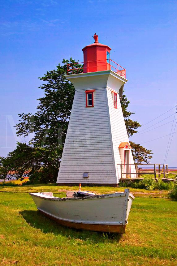 Lighthouse, Victora, Prince Edward Islans, Nova Scotia, Canada