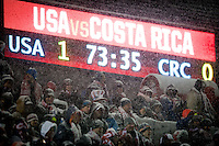 DENVER, CO - MARCH, 22, 2013 - USMNT vs Costa Rica at Dick's Sporting Goods Park in Commerce City, CO.